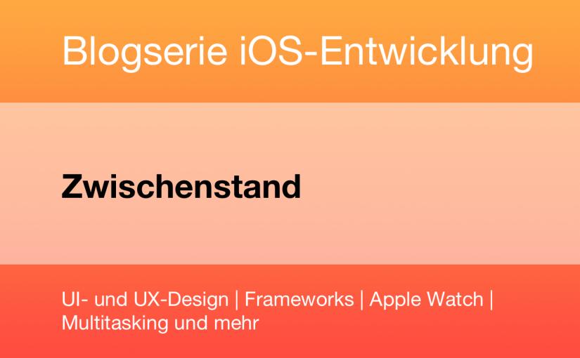 Der aktuelle Stand im großen iOS-E-Book-Projekt von Hanser