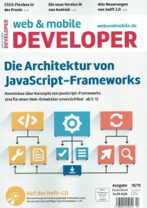web & mobile developer 10/2015