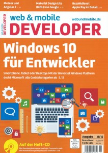 web & mobile developer 11/2015