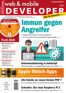 web & mobile developer 5/2015
