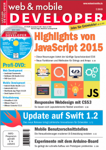 web & mobile developer 7/2015