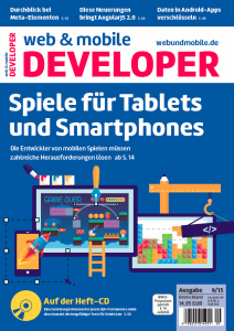 web & mobile developer 9/2015