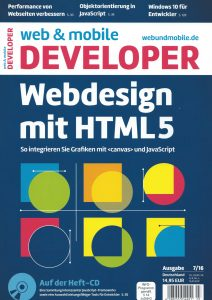 web & mobile developer 7/16