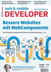 web & mobile DEVELOPER 11/16